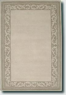 Gothic taupe beige hand tufted area rug alexanian for Alexanian area rugs
