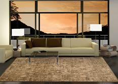 Silken Allure-SLK17-CHO Room Lifestyle Machine-Made Area Rug detail