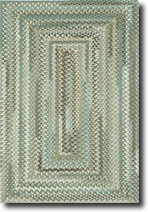 Bear Creek Concentric Rect.-980-250-Olive Branch Braided Area Rug