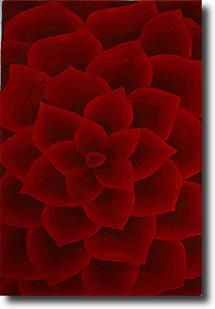 Artisan Studio Lux-Kallista-14727-Red Hand-Tufted Area Rug