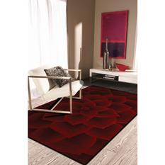 Artisan Studio Lux-Kallista-14727-Red Room Lifestyle Hand-Tufted Area Rug detail