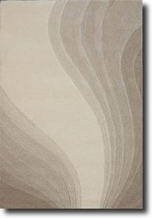 Artisan Studio Lux-Malabar-White Hand-Tufted Area Rug
