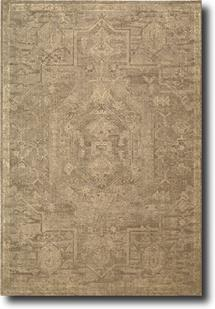 Silken Allure-SLK15-TAU Machine-Made Area Rug