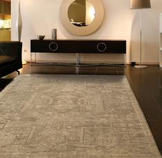 Silken Allure-SLK15-TAU Room Lifestyle Machine-Made Area Rug detail