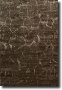 Silk Shadows-SHA02-BRN Hand-Knotted Area Rug