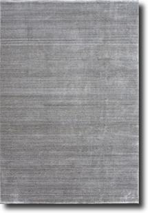 Eufora Silk-518-Silver Grey Machine-Made Area Rug