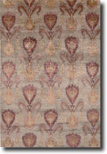 Silk Shadows-SHA06-TAU Hand-Knotted Area Rug