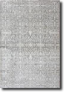 Eufora Silk-515-Grey Machine-Made Area Rug