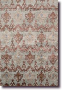 Silk Shadows-SHA07-AZUCO Hand-Knotted Area Rug