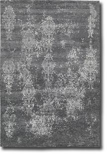 Silk Shadows-SHA14-GRAPH Hand-Knotted Area Rug