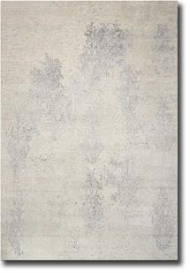Silk Shadows-SHA14-IVSIL Hand-Knotted Area Rug