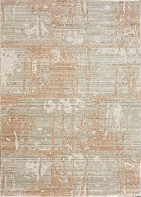 Eufora Silk-513-L.Gold Machine-Made Area Rug