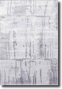 Eufora Silk-530-Grey Machine-Made Area Rug