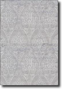 Eufora Silk-502-Grey Machine-Made Area Rug