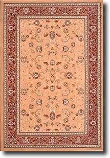 Waldorf-4040-Sandy Ruby Machine-Made Area Rug