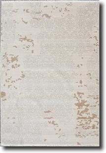 Tiffani Silk-423-Beige Machine-Made Area Rug