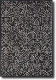 Ashland JA-ASH07-Midnight Navy Turtle dove Hand-Tufted Area Rug