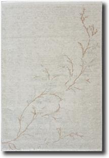 Tiffani Silk-446-Beige Machine-Made Area Rug