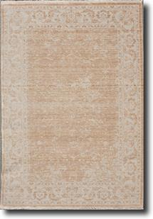Tiffani Silk-448-Beige Gold Machine-Made Area Rug