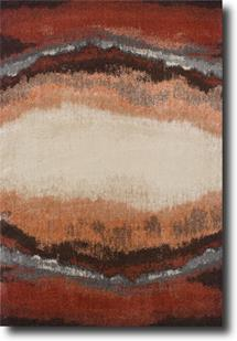 Vibe-5501R Machine-Made Area Rug