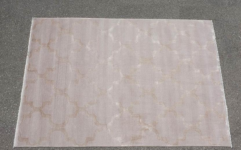 Tiffani Silk-35-Beige Machine-Made Area Rug collection texture detail