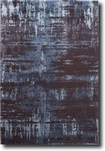 Tiffani Silk-605-Aqua Machine-Made Area Rug