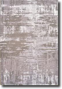 Tiffani Silk-605-Grey Machine-Made Area Rug