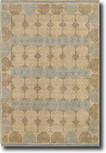 Vestiges-VT03-Cloud White Hand-Knotted Area Rug