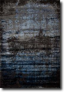 Tiffani Silk-606-Black Machine-Made Area Rug
