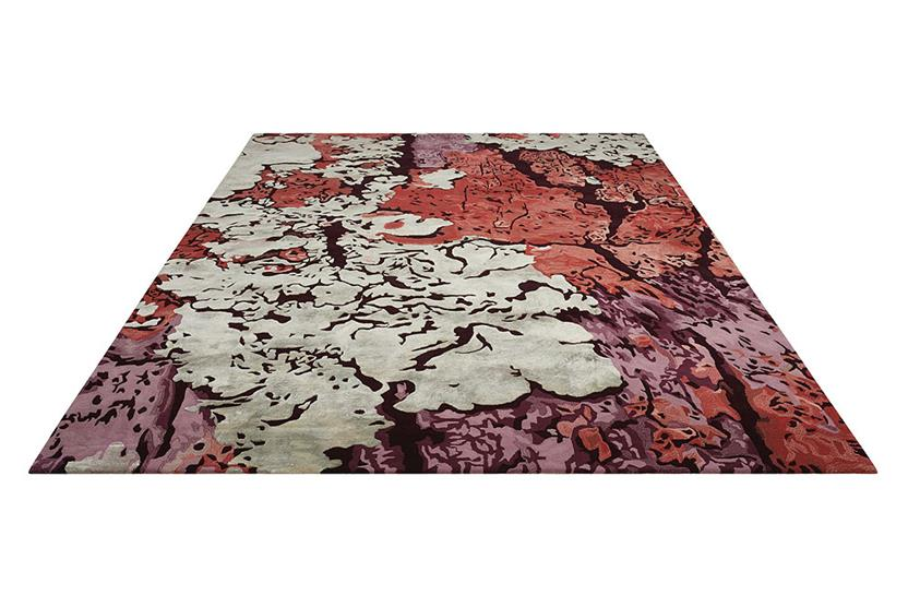 Prismatic-PRS01-MULTI Hand-Knotted Area Rug collection texture detail