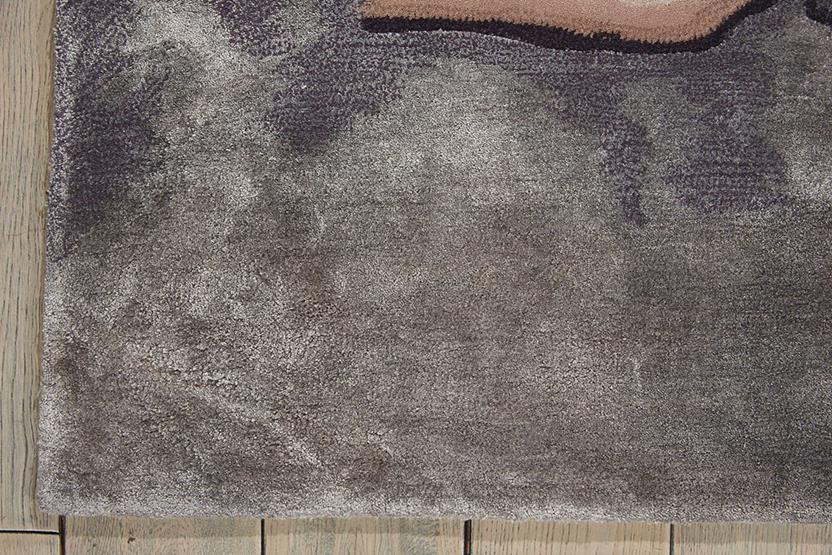 Prismatic-PRS02-BGSIL Hand-Knotted Area Rug collection texture detail