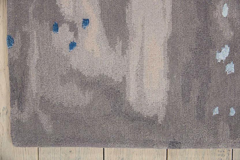 Prismatic-PRS10-BLGRY Hand-Knotted Area Rug collection texture detail