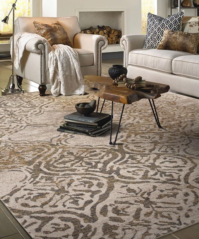Cosmopolitan KAR-90954-20047 Room Lifestyle Machine-Made Area Rug detail