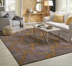 Cosmopolitan KAR-90959-90116 Room Lifestyle Machine-Made Area Rug detail