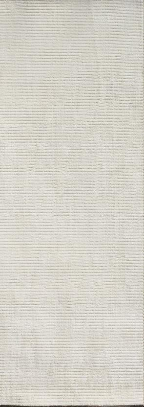 Urban Loop-urban-white Runner Hand-Knotted Area Rug detail
