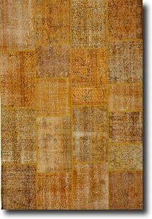 S&C Antique Kelim-SCKP06-Yellow Tones Area Rug