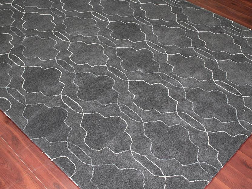 Citadel-CIT-15-Gray Hand-Tufted Area Rug collection texture detail