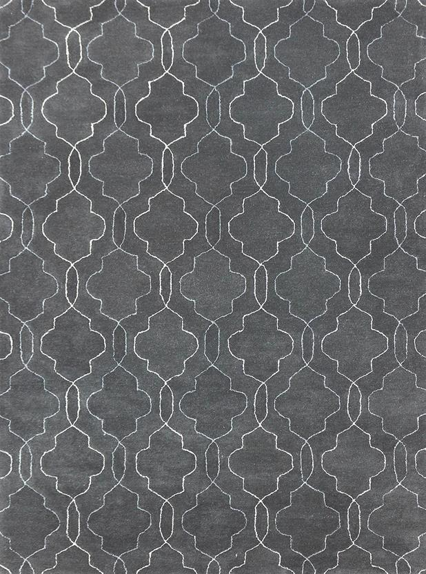 Citadel-CIT-15-Gray Hand-Tufted Area Rug