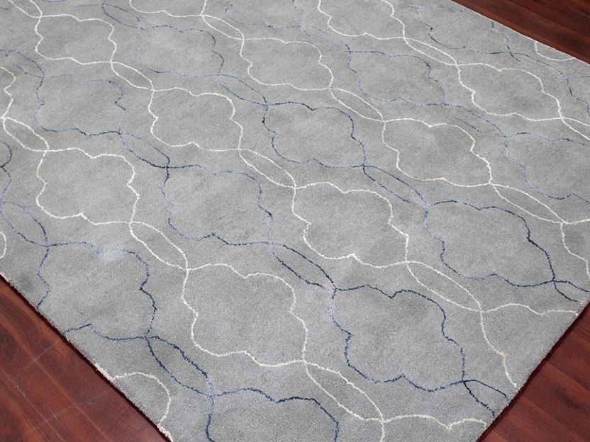 Citadel-CIT-16-Gray Hand-Tufted Area Rug collection texture detail