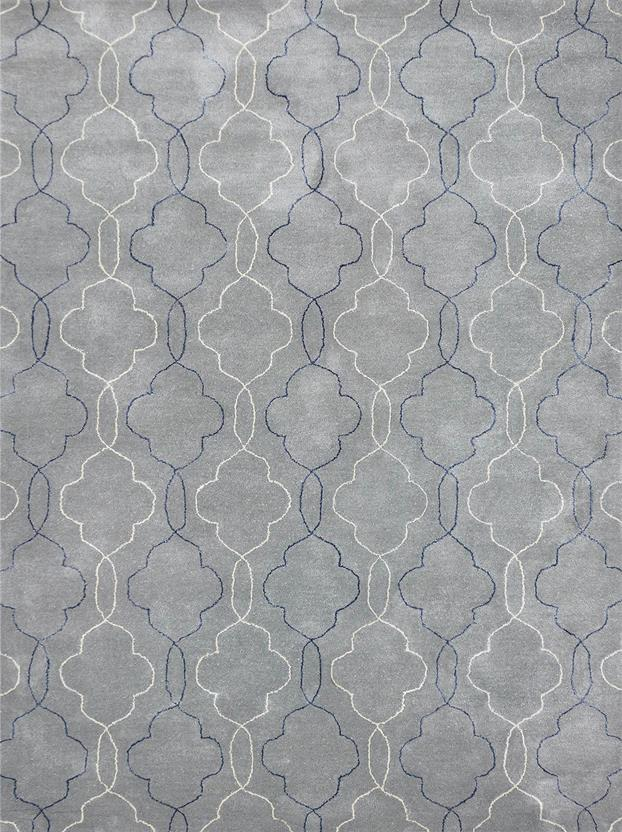 Citadel-CIT-16-Gray Hand-Tufted Area Rug