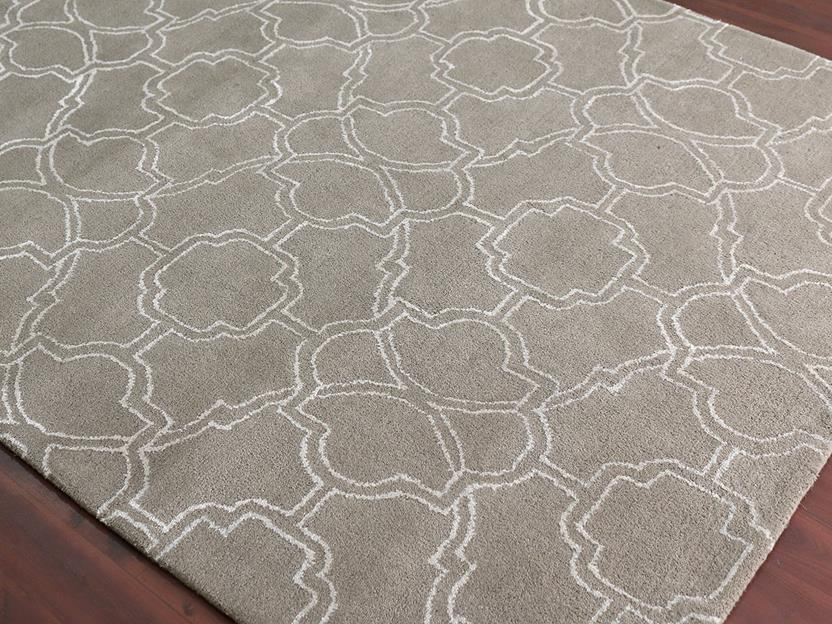 Citadel-CIT-3-Beige Hand-Tufted Area Rug collection texture detail