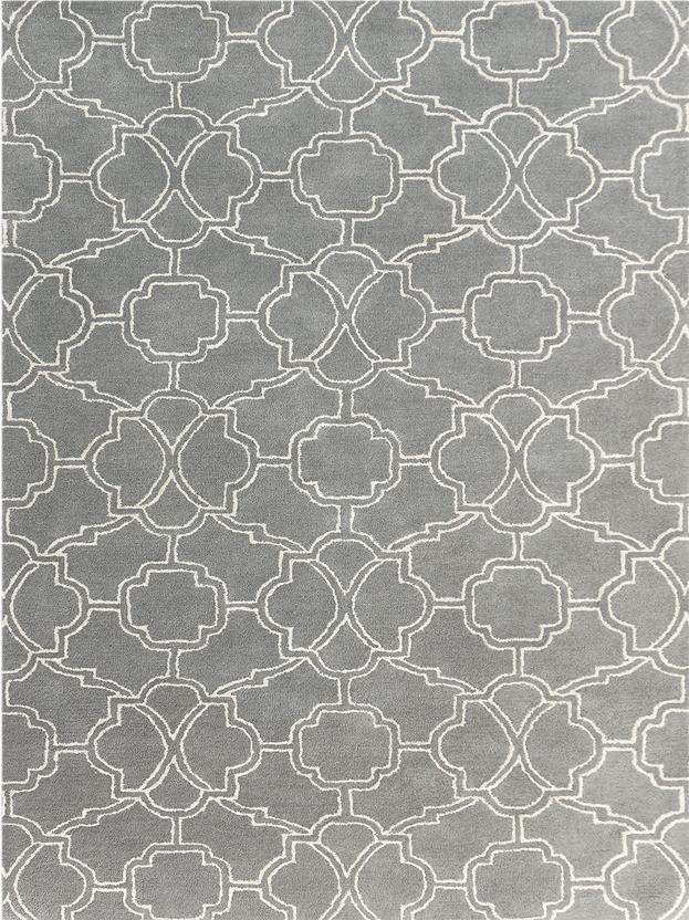 Citadel-CIT-5-Gray Hand-Tufted Area Rug