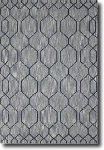 Dew-DWE-4-Gray Hand-Tufted Area Rug