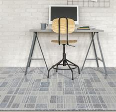 Veche-VEC-17-Gray Room Lifestyle Hand-Tufted Area Rug detail
