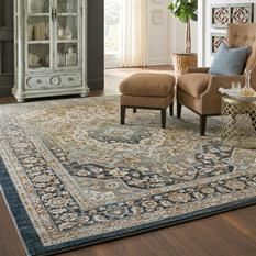Touchstone-90941-50097 Room Lifestyle Machine-Made Area Rug detail