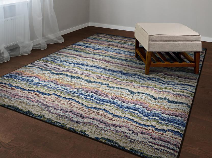 Easson CS-6398-9191 Room Lifestyle Machine-Made Area Rug detail