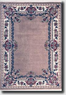 Ajmir Plain-381-A-Beige White Hand-Tufted Area Rug