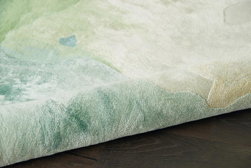 Prismatic-PRS16-SEAFM Hand-Tufted Area Rug collection texture detail