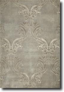 S&C Private Reserve-SCPR05-Majestic Grey Silver  Hand-Knotted Area Rug