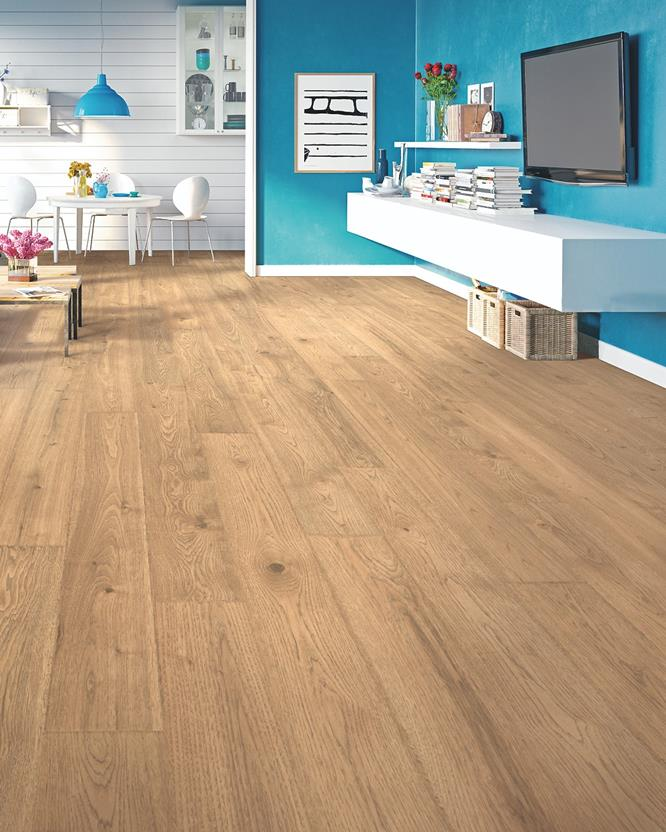 Elderwood-CDL80-Sandbank Oak Room Lifestyle Laminate Flooring detail